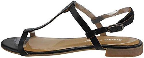 GIORGIO PICINO PICINO PICINO Maiorca 2004k105 Leder Sandale schwarz  Verkauf Online-Rabatt niedrigen Preis