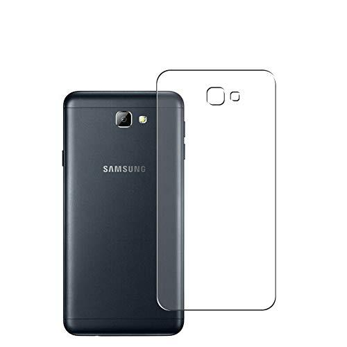 Vaxson 2 Stück Rückseite Schutzfolie, kompatibel mit Samsung Galaxy On5 2016 G5700 J5 Prime, Backcover Skin TPU Folie [nicht Panzerglas/nicht Front Bildschirmschutzfolie]
