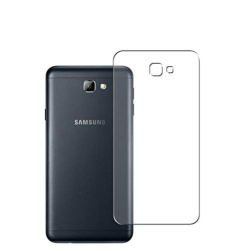Vaxson 2 Unidades Protector de pantalla Posterior, compatible con Samsung Galaxy On5 2016 G5700 J5 Prime [No Vidrio Templado] TPU Película Protectora Espalda Skin Cover