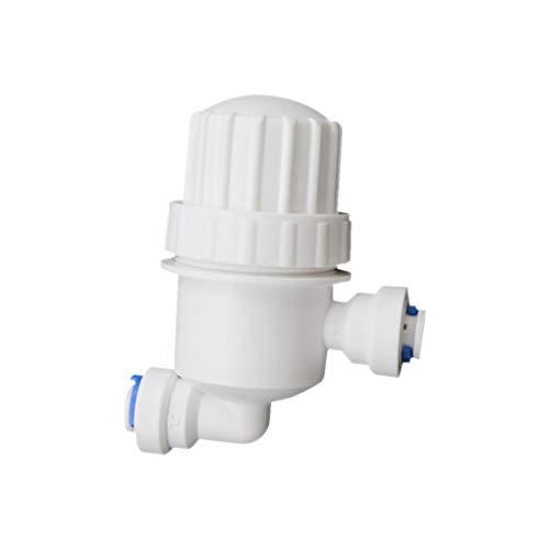 Jinghengrong Mini 2 vías del Filtro del Sistema de nebulización de Agua de la Manguera del jardín del Agua Conector Conector de Tubos de Acero Inoxidable con Malla de Filtro