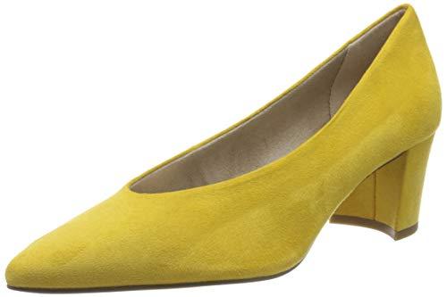 MARCO TOZZI Damen 2-2-22416-34 Pumps, Gelb (Yellow 600), 36 EU