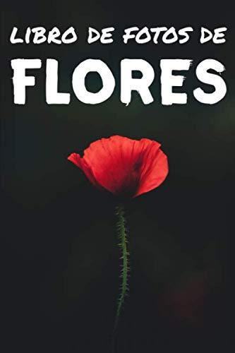 Libro de fotos de flores: Libro de ilustraciones para niños y más - Libro de ilustraciones para ancianos con demencia - Perfecto para el alivio del dolor del Alzheimer