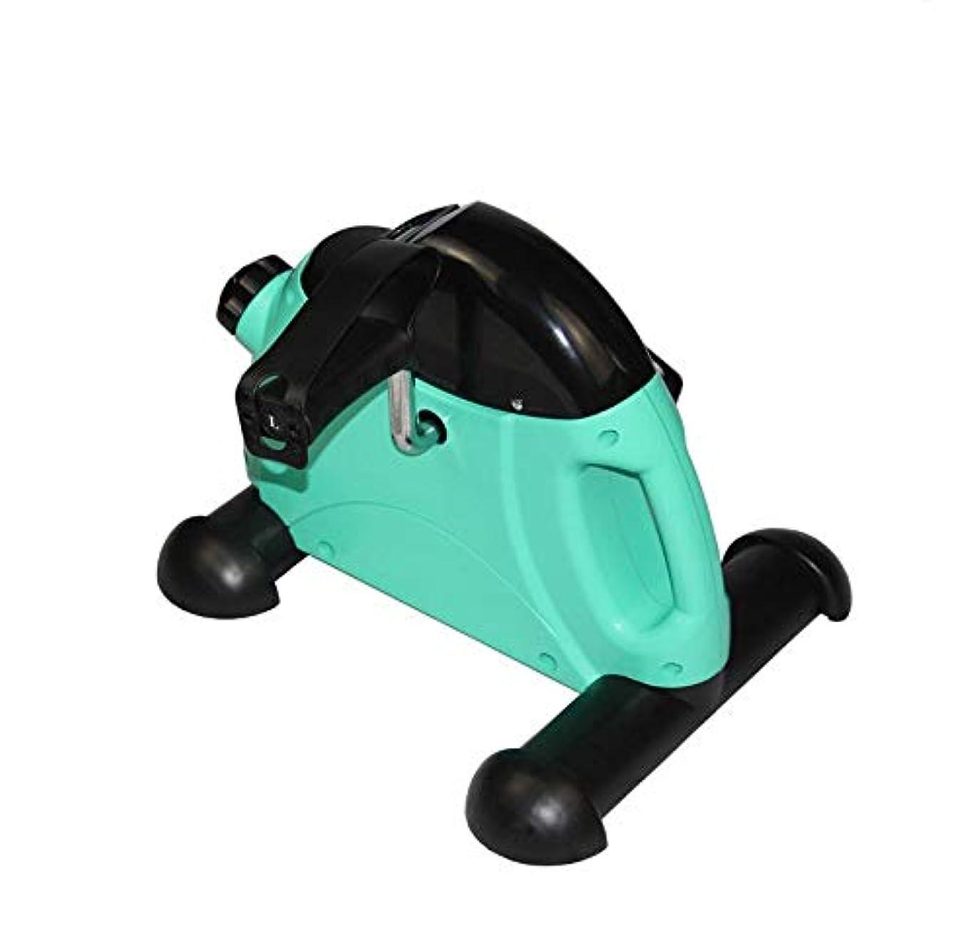 ぞっとするような先ドレインCetengkeji スポーツステッパー簡単に運ぶグリーン多機能ミュートステッパー細いウエストストーブパイプ運動フィットネス機器付き