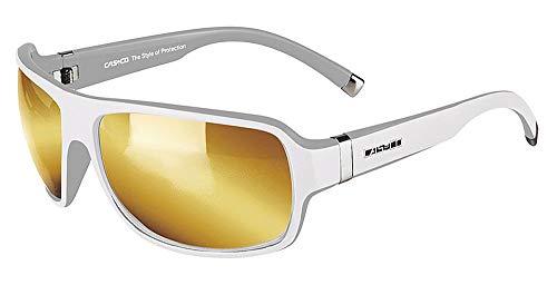 Casco SX-61 Bicolor White-Grey, Sportbrille, Sonnenbrille Fahrrad