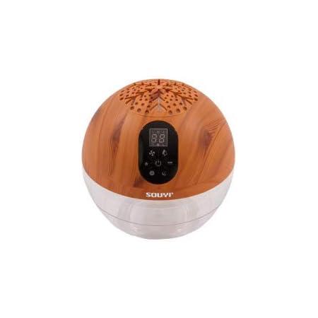 バイオナースボール DX 「水で空気を洗う」 アロマ空気清浄機 大容量 抗菌消臭付 PM2.5 対応 花粉 黄砂 LEDライト (ウッドスタイル)