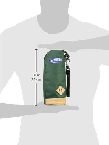 アウトドアプロダクツボトルカバー水筒ケースグリーン500mlペットボトル水筒用314-080
