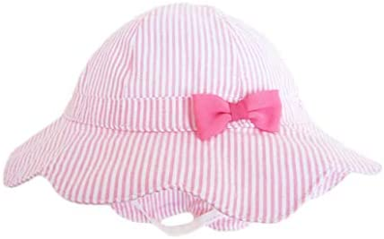 DANMY Baby Girl Wide Brim Bucket Hats with UPF 50 Outdoor Adjustable Beach Hat with Sun Hat product image