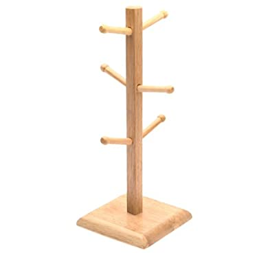 Norpro 7489 Wood Mug Rack