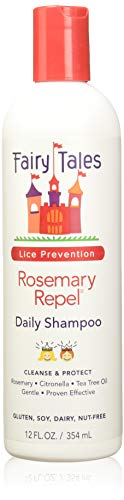 Fairy Tales Rosemary Repel Daily Kid Shampoo for Lice Prevention 12 Fl Oz Pack of 1