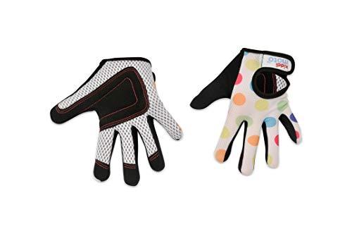 KIDDIMOTO Vollfingerhandschuhe für Kinder, für Fahrrad, Laufrad, Roller und Skateboard (Handschuhe für Mädchen), erhältlich in verschiedenen Größen und Designs