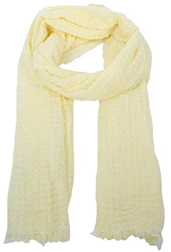Opus Damen Asuki Scarf Mode-Schal, Fresh Lemon, Onesize