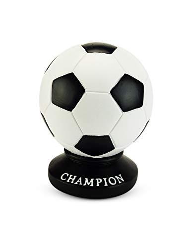 Solinga Spardose Fussball für Kinder und Jungen I Geldgeschenk zum Kindergeburtstag I große Sparbüchse für Kinder I Gelddose