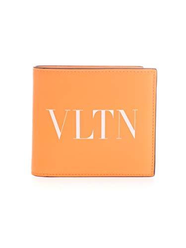 Luxury Fashion   Valentino Garavani Heren TY0P0654CFWCK0 Oranje Leer Portemonnees   Lente-zomer 20