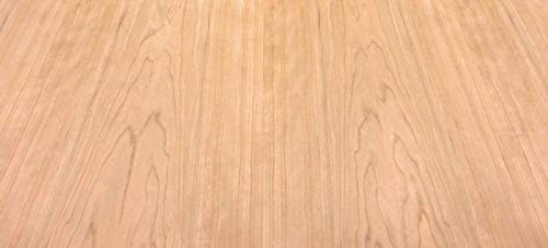 "Cherry wood veneer 48"" x 96"" with phenolic backer""A"" grade quality (HPL back)"