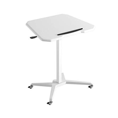 Mesa de cama, Mesas de elevación de la altura de elevación para voltear la mesa del lado del ordenador portátil, la mesa de trabajo de pie, los escritorios de estudio plegable, la mesa de café del lad