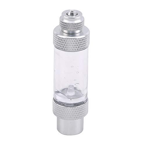 LJJYD Compteur de Bulles de CO2 d'aquarium en Alliage d'aluminium avec clapet Anti-Retour pour système d'injection de régulateur de CO2
