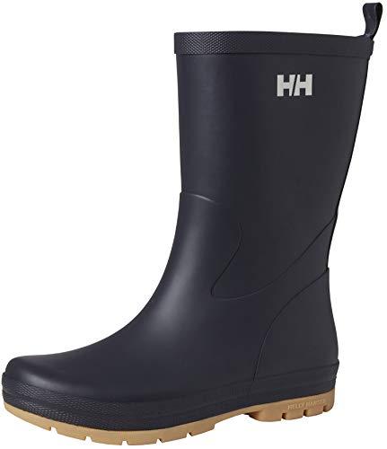 Helly-Hansen Womens Midsund Rain Boots, 597 Navy, Size 6