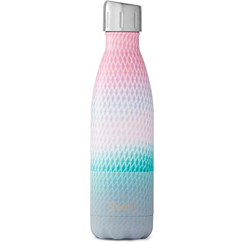 S'well Stainless Steel Water Bottle - 17 Fl Oz - Echo - Triple-Layered Vacuum-Insulated Containers Keeps Drinks Cold for 41 Hours and Hot for 18 - with No Condensation - BPA Free Water Bottle