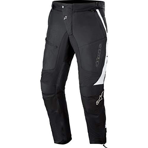 Alpinestars Motorradhose Raider Drystar V2 Textilhose schwarz/weiß M, Herren, Sportler, Ganzjährig