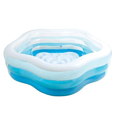 YWSZJ La bañera Plegable, Piscina for niños Océano Bola de Piscina Inflable Infantil domésticos for los niños Piscina for Adultos Grande Espesar