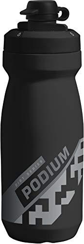 CamelBak Podium Dirt Series Mountain Bike Water Bottle 21 oz, Black