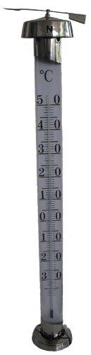 Koch Gartenthermometer JUMBO, Edelstahl, silber