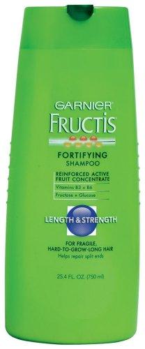 Garnier Fructis Length and Strength Shampoo, 25.40-Fluid Ounce