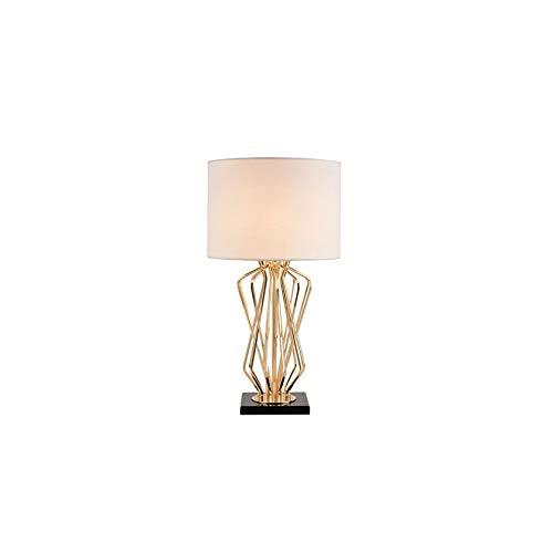 MLZWS Postmodern Crystal Table Lamp Club Hotel Villa Bedside Decorative Lamps Metal Flower Lamp Art Deco