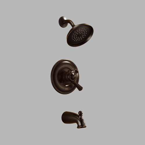 Delta Faucet 174902-RB Lewiston Monitor(R) 17 Series Tub and Shower Trim, Venetian Bronze -