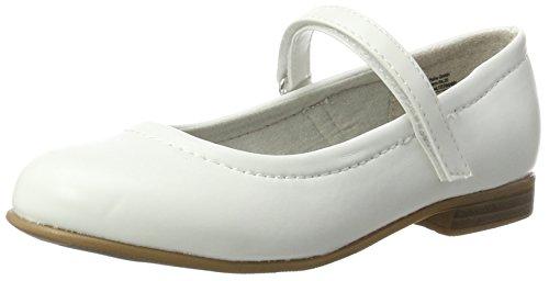 Indigo Mädchen 424 079 Geschlossene Ballerinas, Weiß (White), 33 EU