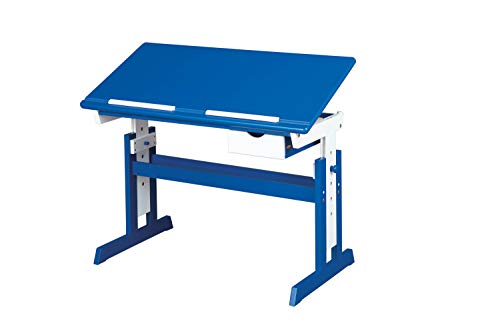 Inter Link 40100600 - Escritorio Infantil, color azul/blanco