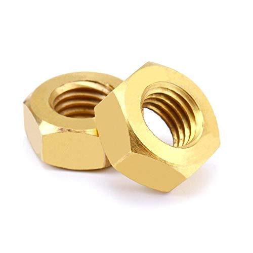 Kupfermutter Kupferschraubverschluss Sechskantmutter aus Kupfer-M8 [20 Stück]