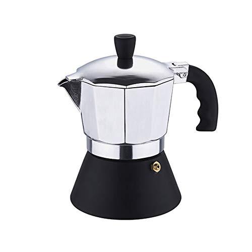 Espressokocher für 3 Tassen, aus Aluminium