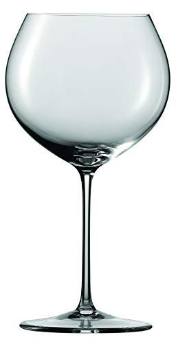 Schott Zwiesel Enoteca 2-teiliges Burgunder Set Rotweinglas, Kristall, klar, 11.6 cm, 2-Einheiten