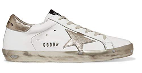 Golden Goose Damen-Sneakers rutschfest GGDB Freizeitschuhe Low Top Slide, Gold - gold - Größe: 36.5 EU
