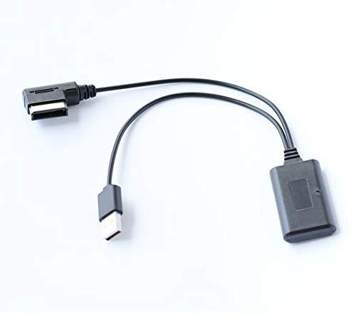 Bluetooth AUX in adapter A2DP mp3 muziek stream geschikt voor Audi AMI MMI 2G Q5 A5 A7 R7 S5 Q7 A6L A8L A4L