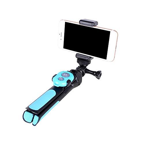 TXCZPG Treppiede Bluetooth Multifunzione Selfie Stick Supporto Video Mobile dal Vivo