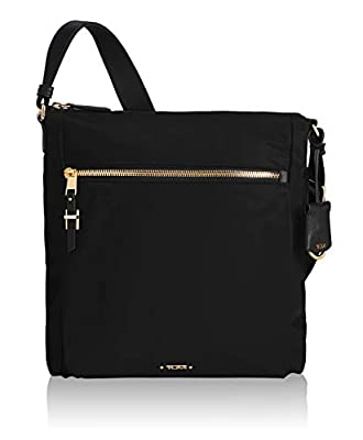 TUMI - Voyageur Canton Crossbody Bag - Over Shoulder Satchel for Women - Black/Silver