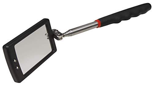 MC POWER - Spiegel-Werkzeug mit LED | Teleskop 28-80cm, Spiegel 40x65mm