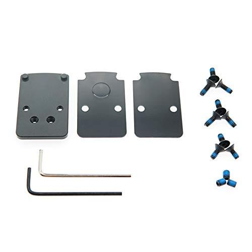 DPP Titanium Mounting kit/Plate/Adapter Compatible with Glock Trijicon RMR/SRO&Holosun 407C507C/508T (Aluminum)