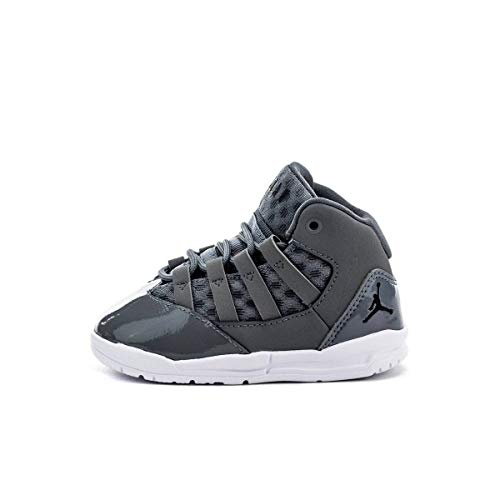 Nike Jordan MAX Aura, Zapatillas de Deporte para Niños, Multicolor (Cool Grey/Black/White/Clear 010), 33 EU