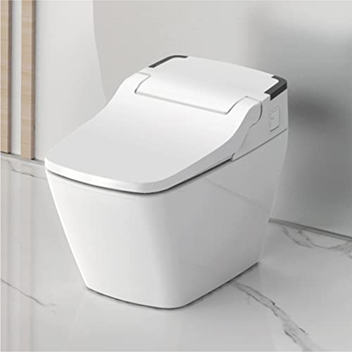 VOVO STYLEMENT TCB-090SA Smart Toilet, Bidet Toilet, One Piece Toilet with Auto Open/Close Lid, Auto Dual Flush, Heated Seat, Warm Water and Dry, Made in Korea