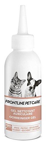 FRONTLINE PET CARE - Soin oreille chien chat - Nettoyant oreilles - 125ml