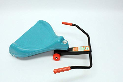 Flying Turtle Original Style ~ an Engineering Marvel | Sit-Skate Scooter Best Classic Toy ~ in Teal Blue