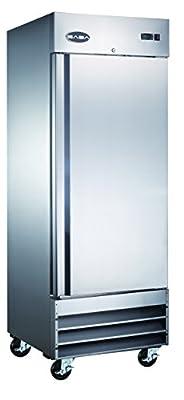 "Heavy Duty Commercial Stainless Steel Reach-in Freezer (29"" One Solid Door)"