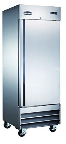 23 cu ft Solid Door Commercial Reach In Freezer in Stainless Steel