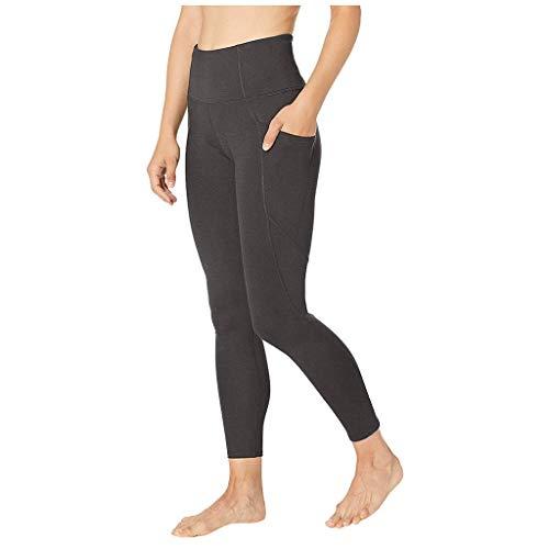 Wtouhe Pantalons Femme Style Motard à Cuir Serrer Micro-éLastique pour Yoga Sports EntraîNement Gym Fitness Exercice AthléTique Pantalon Slim Jeans Taille Haute 2021 Pas Cher