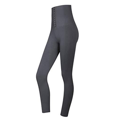 HAVAJ Leggings de cintura alta para mujer Fitness Deportes Leggins Corsé Slim Sexy
