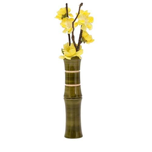Liix Handlebar Vase Bamboo Grün 15x3.5 cm