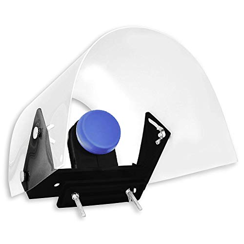 hd-line LNB Wetterschutzhaube - Schutz vor Regen, Schnee, EIS, Hagel und UV Schutz Kompatibel für Sat Anschülle